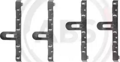 A.B.S. 1048Q - Piederumu komplekts, Disku bremžu uzlikas interparts.lv