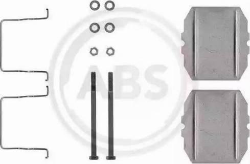 A.B.S. 1053Q - Piederumu komplekts, Disku bremžu uzlikas interparts.lv