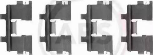 A.B.S. 1015Q - Piederumu komplekts, Disku bremžu uzlikas interparts.lv