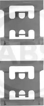 A.B.S. 1083Q - Piederumu komplekts, Disku bremžu uzlikas interparts.lv