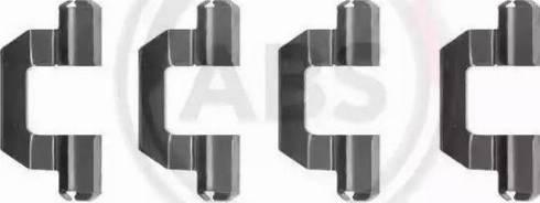 A.B.S. 1077Q - Piederumu komplekts, Disku bremžu uzlikas interparts.lv