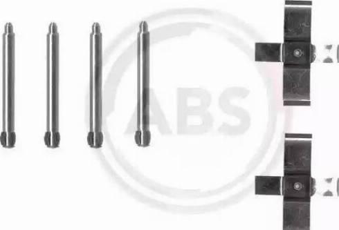 A.B.S. 1195Q - Piederumu komplekts, Disku bremžu uzlikas interparts.lv