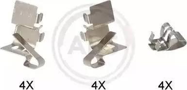 A.B.S. 1191Q - Piederumu komplekts, Disku bremžu uzlikas interparts.lv