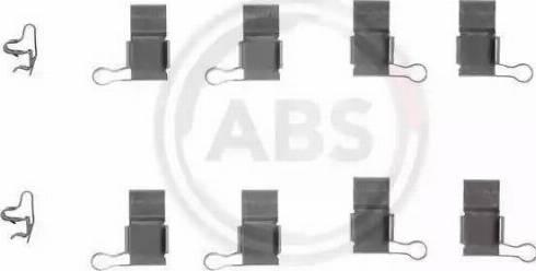 A.B.S. 1193Q - Piederumu komplekts, Disku bremžu uzlikas interparts.lv