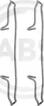 A.B.S. 1159Q - Piederumu komplekts, Disku bremžu uzlikas interparts.lv