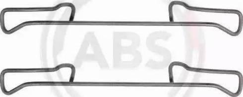 A.B.S. 1150Q - Piederumu komplekts, Disku bremžu uzlikas interparts.lv