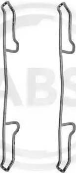 A.B.S. 1100Q - Piederumu komplekts, Disku bremžu uzlikas interparts.lv