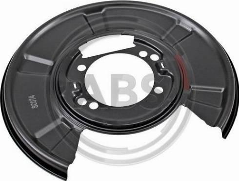 A.B.S. 11071 - Dubļu sargs, Bremžu disks interparts.lv
