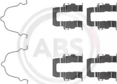 A.B.S. 1119Q - Piederumu komplekts, Disku bremžu uzlikas interparts.lv