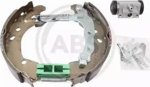 A.B.S. 111436 - Bremžu komplekts, trumuļa bremzes interparts.lv