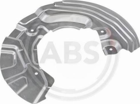 A.B.S. 11107 - Dubļu sargs, Bremžu disks interparts.lv
