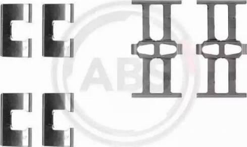 A.B.S. 1118Q - Piederumu komplekts, Disku bremžu uzlikas interparts.lv