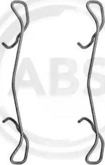 A.B.S. 1189Q - Piederumu komplekts, Disku bremžu uzlikas interparts.lv