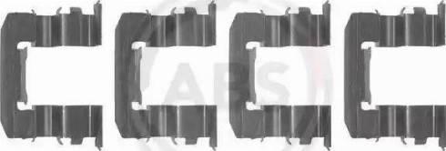 A.B.S. 1184Q - Piederumu komplekts, Disku bremžu uzlikas interparts.lv