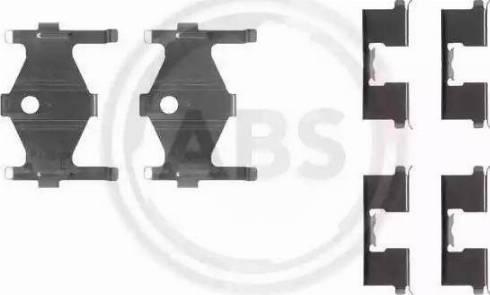 A.B.S. 1185Q - Piederumu komplekts, Disku bremžu uzlikas interparts.lv