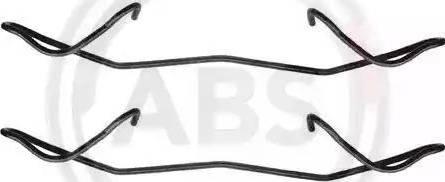 A.B.S. 1180Q - Piederumu komplekts, Disku bremžu uzlikas interparts.lv