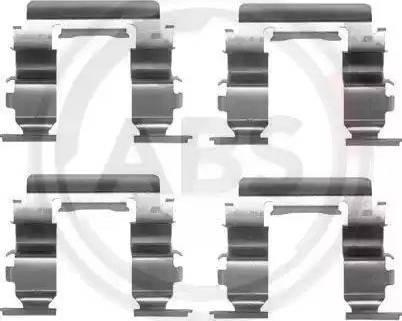 A.B.S. 1181Q - Piederumu komplekts, Disku bremžu uzlikas interparts.lv