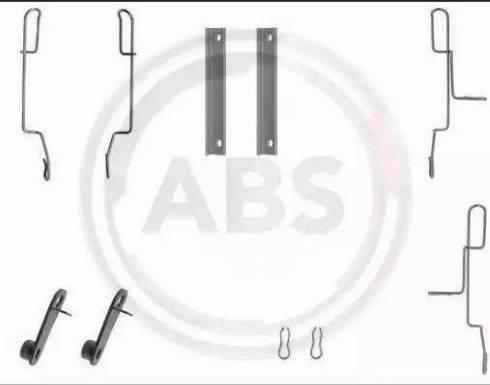 A.B.S. 1188Q - Piederumu komplekts, Disku bremžu uzlikas interparts.lv