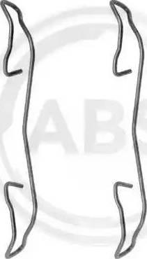 A.B.S. 1187Q - Piederumu komplekts, Disku bremžu uzlikas interparts.lv