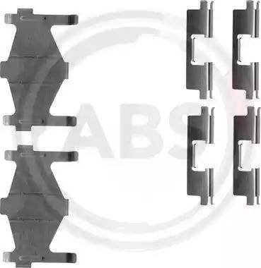 A.B.S. 1136Q - Piederumu komplekts, Disku bremžu uzlikas interparts.lv