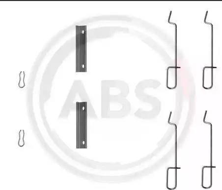 A.B.S. 1125Q - Piederumu komplekts, Disku bremžu uzlikas interparts.lv