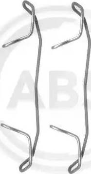 A.B.S. 1123Q - Piederumu komplekts, Disku bremžu uzlikas interparts.lv