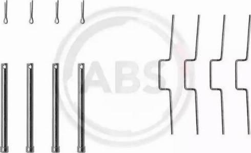 A.B.S. 1176Q - Piederumu komplekts, Disku bremžu uzlikas interparts.lv