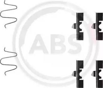 A.B.S. 1170Q - Piederumu komplekts, Disku bremžu uzlikas interparts.lv