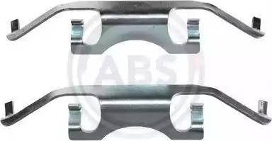 A.B.S. 1241Q - Piederumu komplekts, Disku bremžu uzlikas interparts.lv