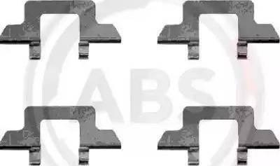 A.B.S. 1242Q - Piederumu komplekts, Disku bremžu uzlikas interparts.lv
