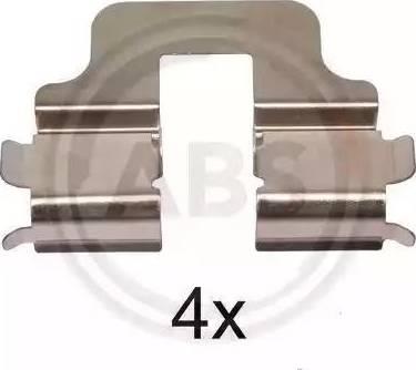 A.B.S. 1247Q - Piederumu komplekts, Disku bremžu uzlikas interparts.lv