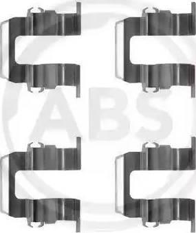 A.B.S. 1259Q - Piederumu komplekts, Disku bremžu uzlikas interparts.lv