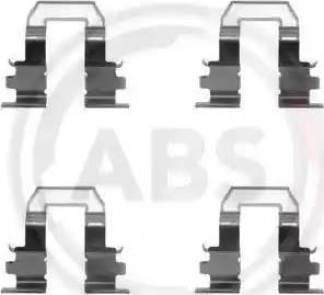 A.B.S. 1255Q - Piederumu komplekts, Disku bremžu uzlikas interparts.lv