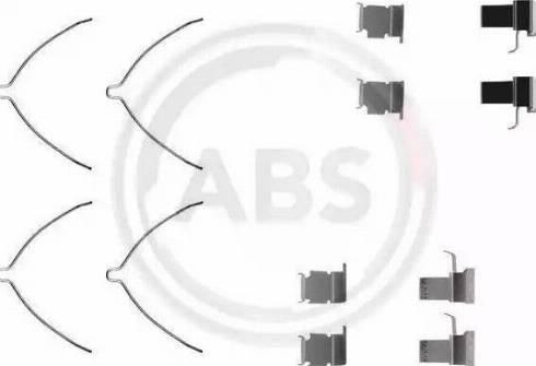 A.B.S. 1261Q - Piederumu komplekts, Disku bremžu uzlikas interparts.lv