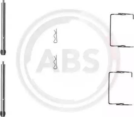 A.B.S. 1267Q - Piederumu komplekts, Disku bremžu uzlikas interparts.lv
