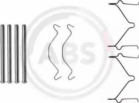 A.B.S. 1209Q - Piederumu komplekts, Disku bremžu uzlikas interparts.lv