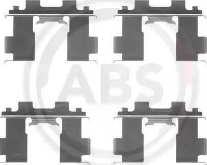 A.B.S. 1205Q - Piederumu komplekts, Disku bremžu uzlikas interparts.lv