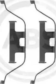 A.B.S. 1201Q - Piederumu komplekts, Disku bremžu uzlikas interparts.lv