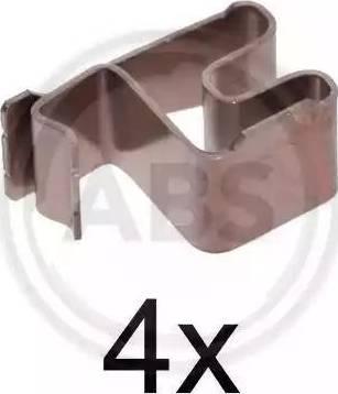 A.B.S. 1219Q - Piederumu komplekts, Disku bremžu uzlikas interparts.lv