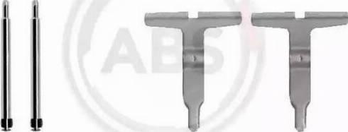 A.B.S. 1217Q - Piederumu komplekts, Disku bremžu uzlikas interparts.lv