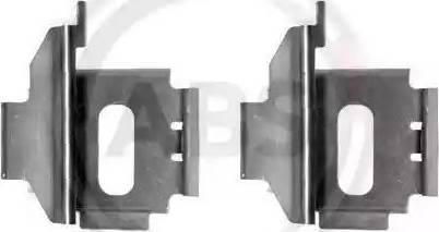 A.B.S. 1283Q - Piederumu komplekts, Disku bremžu uzlikas interparts.lv