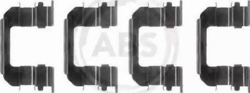 A.B.S. 1287Q - Piederumu komplekts, Disku bremžu uzlikas interparts.lv