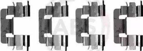 A.B.S. 1229Q - Piederumu komplekts, Disku bremžu uzlikas interparts.lv