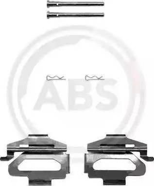 A.B.S. 1225Q - Piederumu komplekts, Disku bremžu uzlikas interparts.lv
