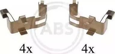 A.B.S. 1226Q - Piederumu komplekts, Disku bremžu uzlikas interparts.lv