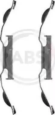 A.B.S. 1221Q - Piederumu komplekts, Disku bremžu uzlikas interparts.lv