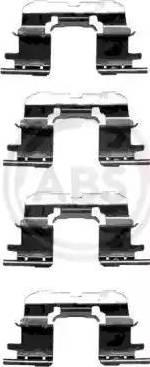 A.B.S. 1227Q - Piederumu komplekts, Disku bremžu uzlikas interparts.lv