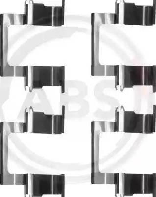 A.B.S. 1274Q - Piederumu komplekts, Disku bremžu uzlikas interparts.lv