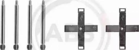 A.B.S. 1271Q - Piederumu komplekts, Disku bremžu uzlikas interparts.lv