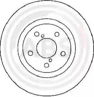 A.B.S. 17955 - Bremžu diski interparts.lv